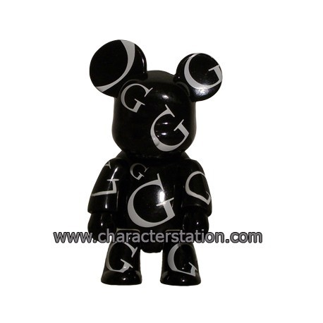 Figur Qee HK Design Gallery Black Toy2R Geneva Store Switzerland