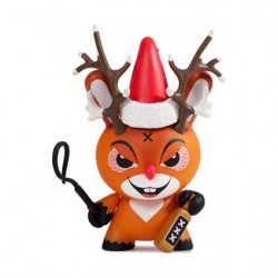 Figurine Dunny Holiday Rise of Rudolph par Frank Kozik Kidrobot Boutique Geneve Suisse