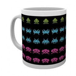 Figur Space Invaders Invader Wrap Mug Hole in the Wall Geneva Store Switzerland