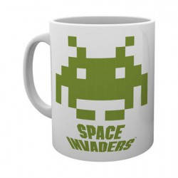Figur Space Invaders Crab Mug Hole in the Wall Geneva Store Switzerland
