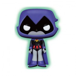 Figur Pop DC Teen Titans Go Raven Glow in the Dark Limited Edition Funko Geneva Store Switzerland