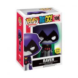 Figurine Pop Phosphorescent DC Teen Titans Go Raven Edition Limitée Funko Boutique Geneve Suisse