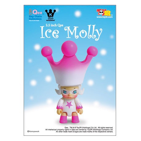 Figur Qee Ice Molly Toy2R Geneva Store Switzerland
