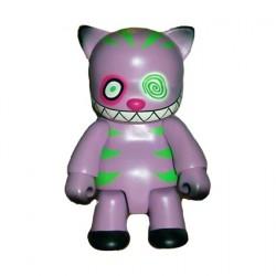 Figurine Qee Cheshire Cat Violet 20 cm par Anna Puchalski Designer Toys Geneve