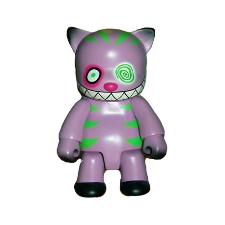 Figur Qee Cheshire Cat Purple 20 cm by Anna Puchalski Toy2R Geneva Store Switzerland