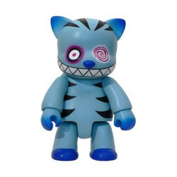 Figuren Qee Cheshire Cat Blue 20 cm von Anna Puchalski Designer Toys Genf