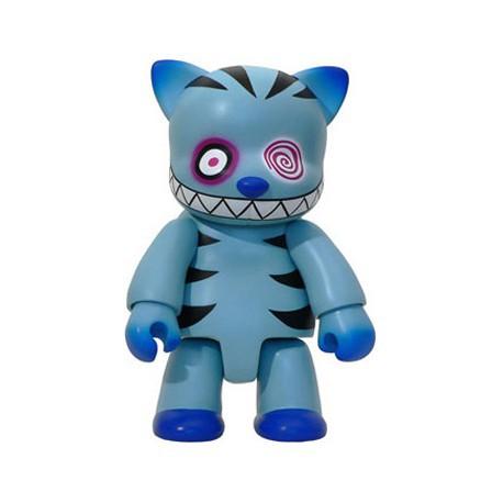 Figurine Qee Cheshire Cat Bleu 20 cm par Anna Puchalski Toy2R Boutique Geneve Suisse