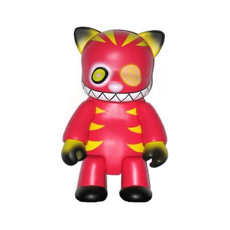 Figurine Qee Cheshire Cat Rouge 20 cm par Anna Puchalski Toy2R Boutique Geneve Suisse
