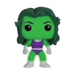 Figurine Pop Marvel She Hulk Phosphorescent Édition Limitée Funko Figurines Pop! Geneve