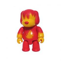 Rare Qee Designer série 1 Fire Dog