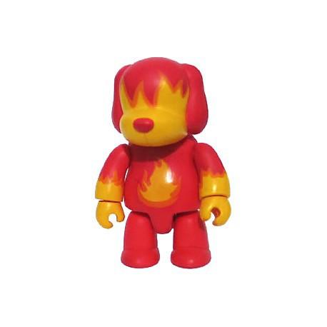 Figur Rare Qee Designer série 1 Fire Dog Toy2R Geneva Store Switzerland