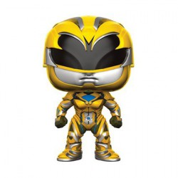 Figurine Pop Film Power Rangers Yellow Ranger Funko Boutique Geneve Suisse