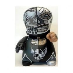 Figuren BIC Buddy Half Dead Silver von Marka27 Designer Toys Genf