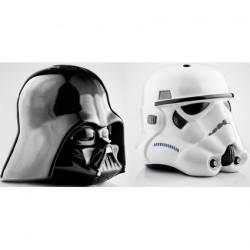 Figurine Salière et Poivrière Star Wars Dark Vador et Stormtrooper Boutique Geneve Suisse