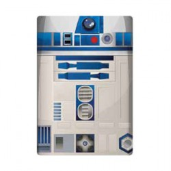 Star Wars Glass Cutting Board R2-D2