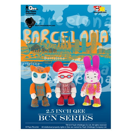 Figurine Qee Barcelona Set par Pepa Reverter Toy2R Boutique Geneve Suisse