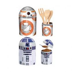 Figuren Star Wars R2-D2 und BB-8 Droids Behälter (2 Stück) Underground Toys Genf Shop Schweiz