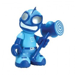 Figurine El Robot Loco Bleu Kidrobot 07 par Tristan Eaton Kidrobot Designer Toys Geneve