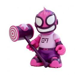 Figurine El Robot Loco Violet Kidrobot 07 par Tristan Eaton (Sans boite) Kidrobot Designer Toys Geneve