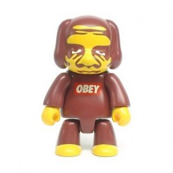 Figur Qee 2006 no box by Obey Shepard Fairey Toy2R Geneva Store Switzerland