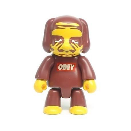 Figur Qee 2006 no box by Obey Shepard Fairey Toy2R Geneva Store Switzerland