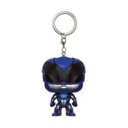 Figurine Pop Pocket Porte-clés Power Rangers Movie Blue Ranger Funko Boutique Geneve Suisse