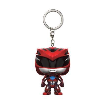 Red Ranger Pocket Pop Keychain Official Power Rangers Funko Pop Vinyl Keyring