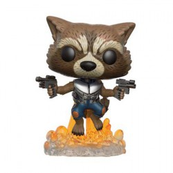 Figuren Pop Marvel Guardians of The Galaxy 2 Rocket Raccoon (Selten) Funko Genf Shop Schweiz