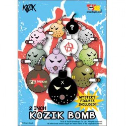Figurine Mini Bombe par Kozik Toy2R Boutique Geneve Suisse