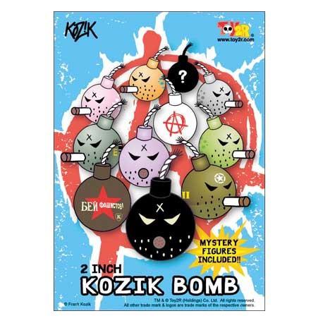 Figurine Mini Bombe par Kozik Toy2R Boutique Geneve Suisse