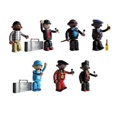 Figuren Mini figurines Bitdz von Oakland's Warning Label Design Strangeco Kleine Figuren Genf
