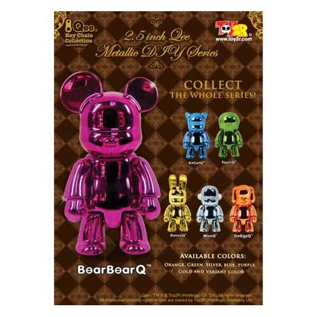 Figur Qee Mettalic Toy2R Geneva Store Switzerland