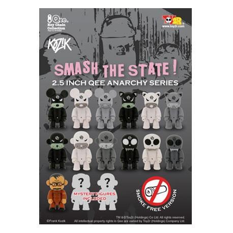 Figurine Qee Kozik Anarchy Smoke Free par Kozik Toy2R Boutique Geneve Suisse