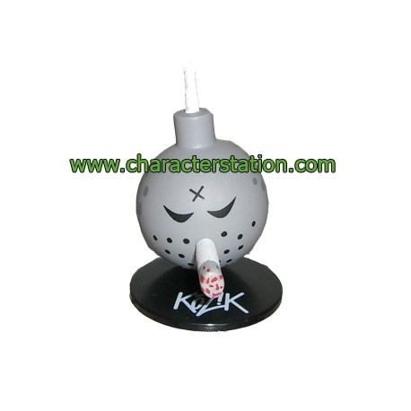Figur Mini Bomb Gray by Kozik Toy2R Geneva Store Switzerland