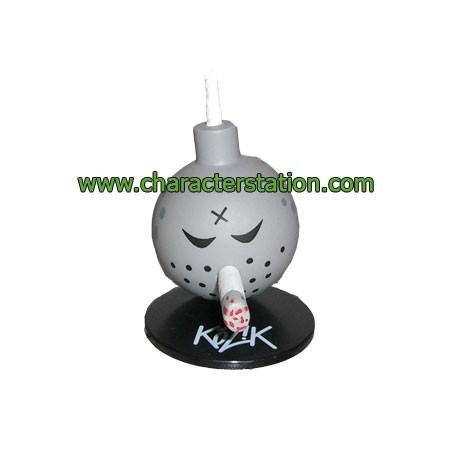 Figurine Mini Bomb Gris par Kozik Toy2R Boutique Geneve Suisse
