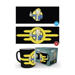 Figurine Tasse Fallout Vault Boy Thermosensible (1 pcs) Hole in the Wall Boutique Geneve Suisse