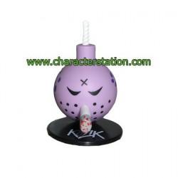 Mini Bomb Violet par Kozik