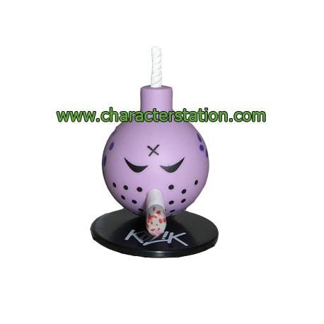 Figurine Mini Bomb Violet par Kozik Toy2R Boutique Geneve Suisse