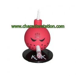 Mini Bomb Rouge par Kozik