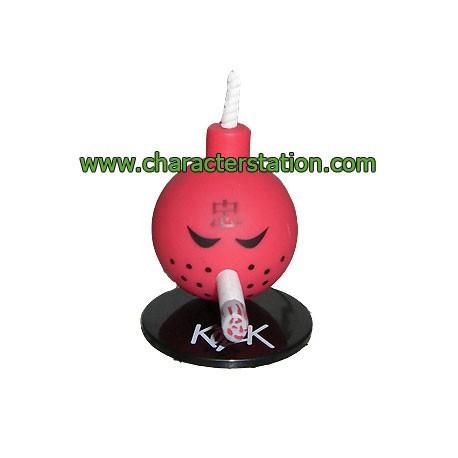 Figurine Mini Bomb Rouge par Kozik Toy2R Boutique Geneve Suisse