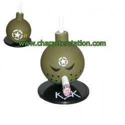 Mini Bomb Green 3 by Kozik