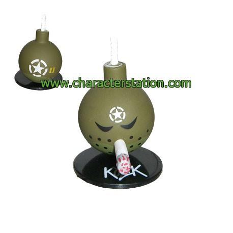 Figur Mini Bomb Green 3 by Kozik Toy2R Geneva Store Switzerland