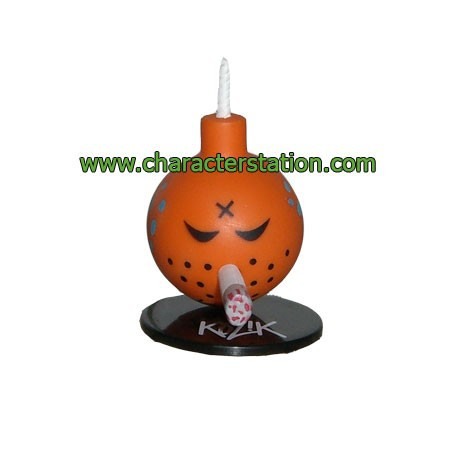 Figurine Mini Bomb Orange par Kozik Toy2R Petites figurines Geneve