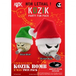 Kozik Bomb Xmas Twin Pack