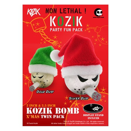 Figur Bomb Xmas Twin Pack by Kozik Toy2R Geneva Store Switzerland
