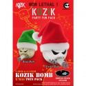Bomb Xmas Twin Pack by Kozik