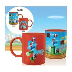 Super Mario Bros Veränderung durch Hitze Tasse (1 Stk)