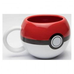 Tasse Pokemon Pokeball 3D