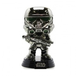 Figur Pop Movies Star Wars Rogue One Chromed Imperial Death Trooper Limited Edition Funko Geneva Store Switzerland