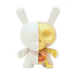 Figuren 12.5 cm Dunny Half Ray von Jason Freeny Designer Toys Genf